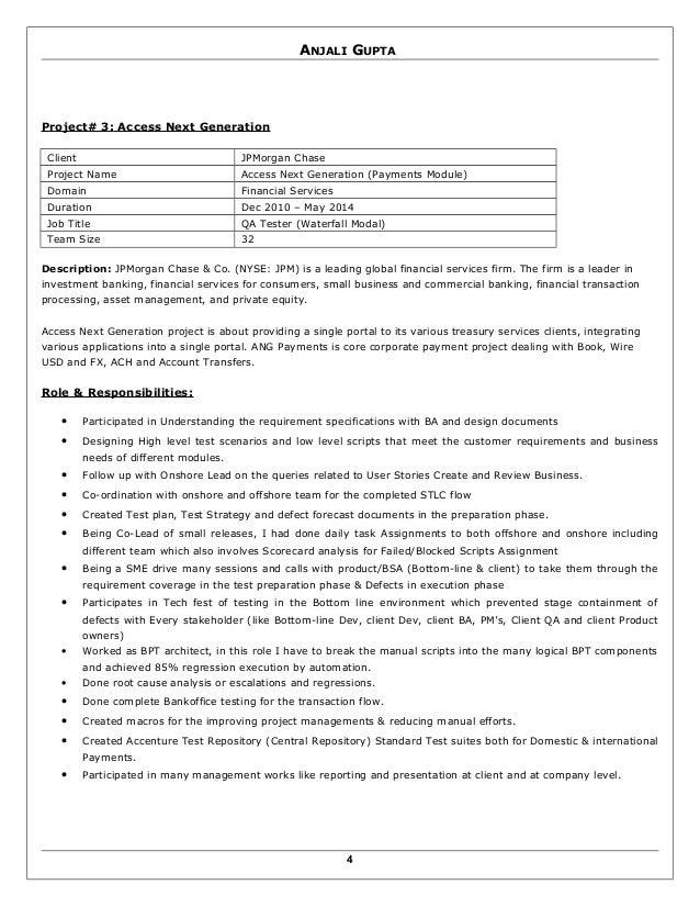 anjali gupta resume