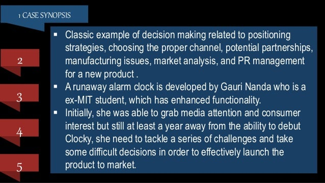 "clocky marketing overview Introduction in 2005 gauri nanda, supported by neuroscience research that demonstrated the depth of the average american's sleep deficiency problem, created significant media buzz with the prototype of her revolutionary alarm clock ""clocky."
