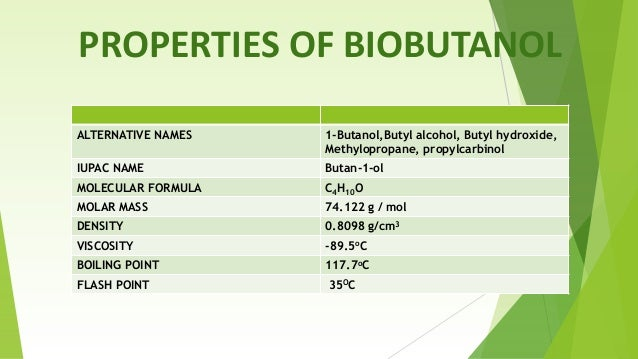 butanol essay Need essay sample on dehydration of 1-butanol & 2-butanol we will write a cheap essay sample on dehydration of 1-butanol & 2-butanol specifically for you for only $1290/page.