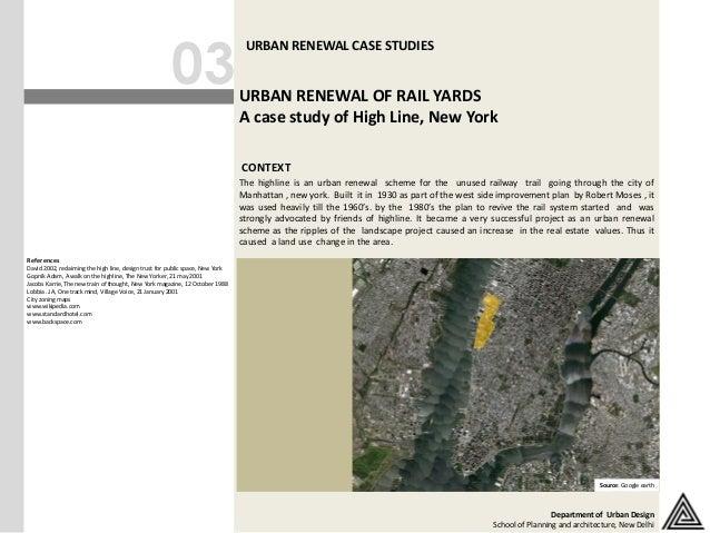 03                                                                                 URBAN RENEWAL CASE STUDIES             ...