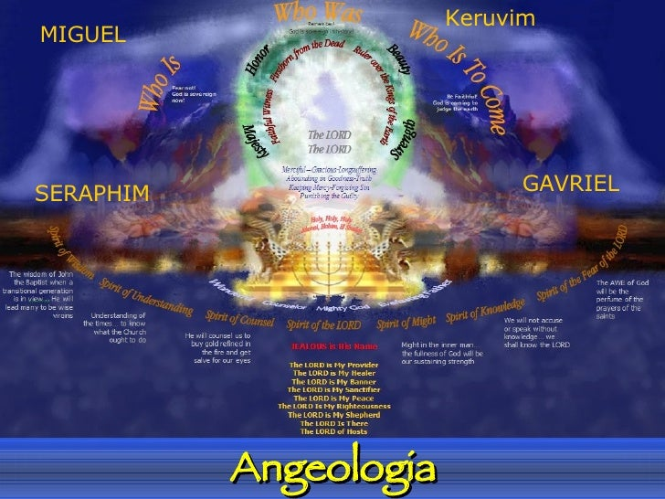 Angeologia MIGUEL SERAPHIM GAVRIEL Keruvim
