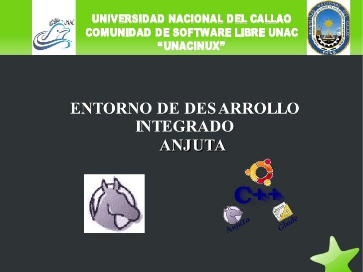 ENTORNO DE DESARROLLO INTEGRADO ANJUTA