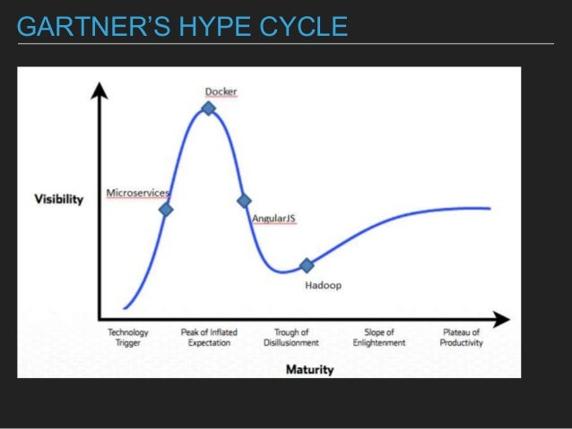 GARTNER'S HYPE CYCLE