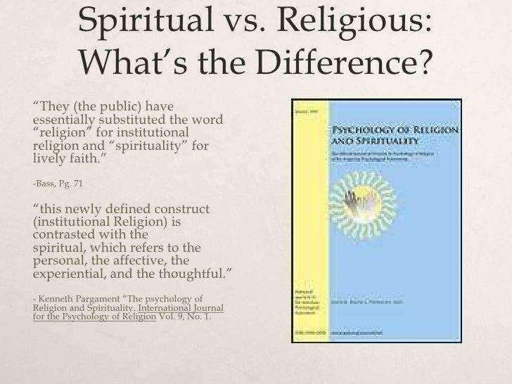 Spiritual but not religious dating