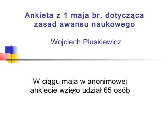 Ankieta z 1.05.13