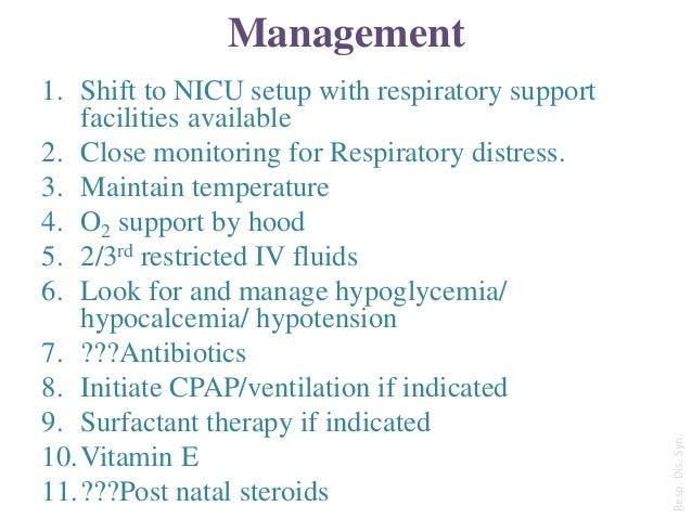 Respiratory Distress In New Born