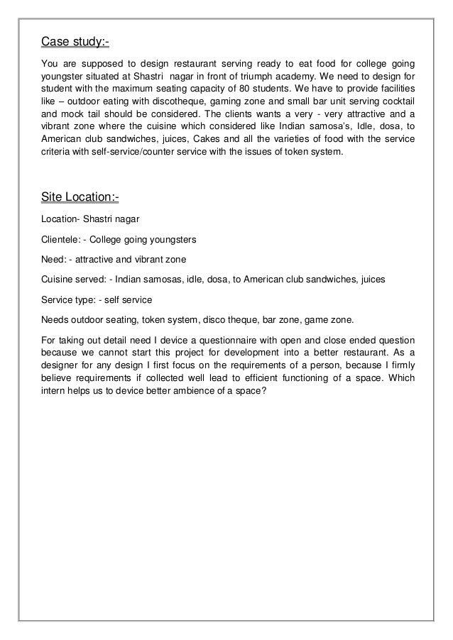 Interior Design Questionnaire Examples