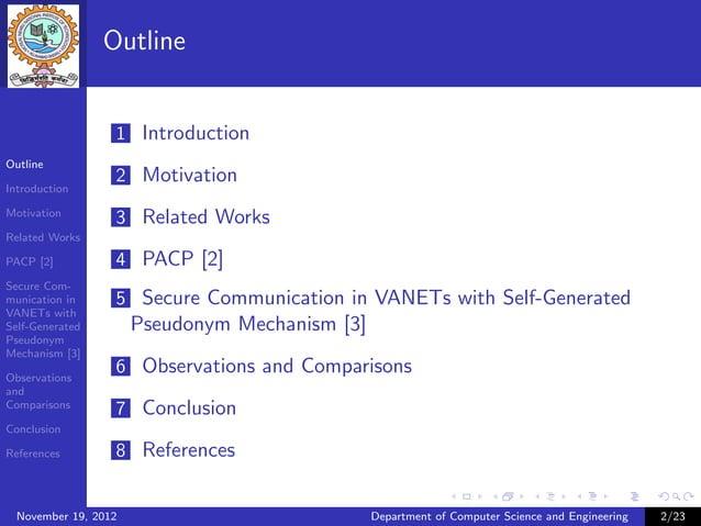 Outline                  1 IntroductionOutline                  2 MotivationIntroductionMotivation                  3 Rela...