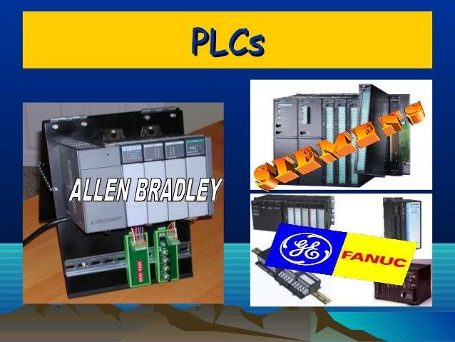PLCsPLCs