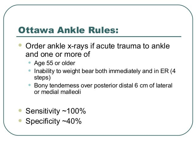implementation of ottawa ankle rules health and social care essay Health and social care (1,083) history its implementation mooted by various factors and the influences of globalization and j inherent rules of corporate.