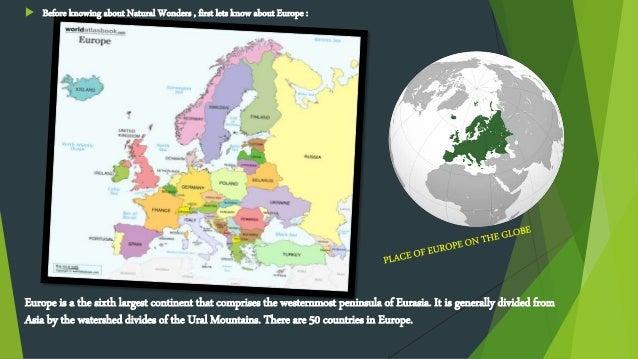 Natural Wonders of europe Slide 2