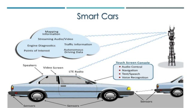 IoT connected smart cars