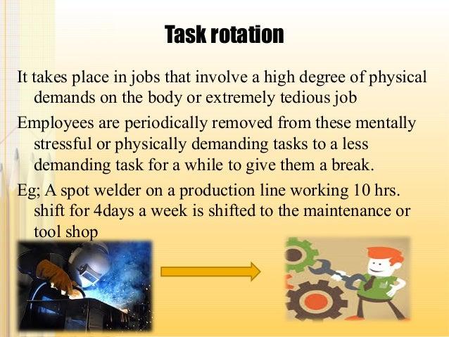 Job rotation programs