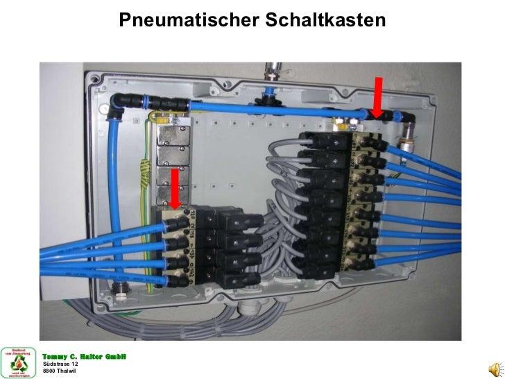 Pneumatischer Schaltkasten