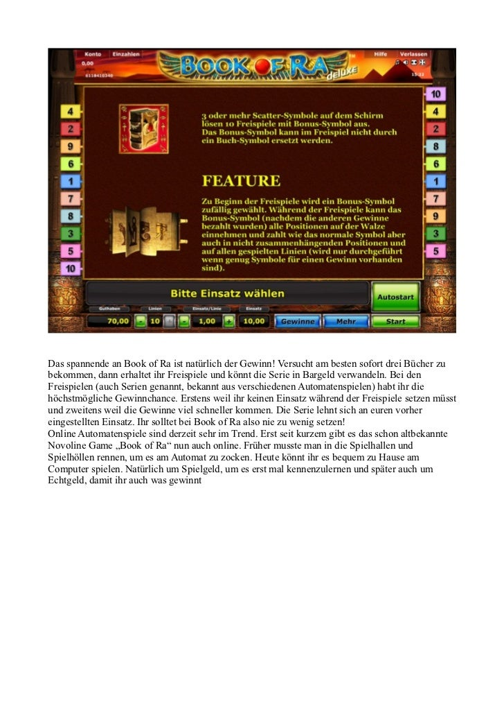Anleitung Book Of Ra