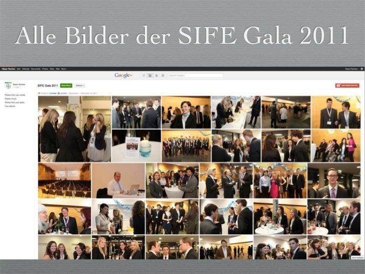 Alle Bilder der SIFE Gala 2011       der Universität Leverkusen
