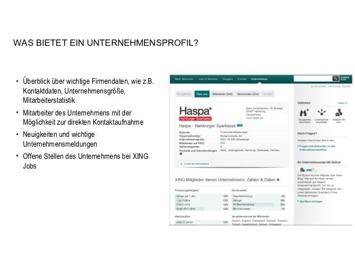 <ul><li>Überblick über wichtige Firmendaten, wie z.B. Kontaktdaten, Unternehmensgröße, Mitarbeiterstatistik </li></ul><ul>...
