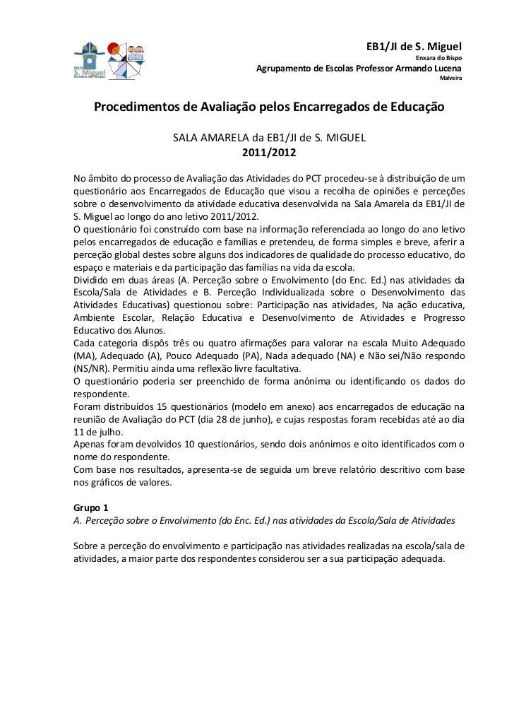 EB1/JI de S. Miguel                                                                                Enxara do Bispo        ...