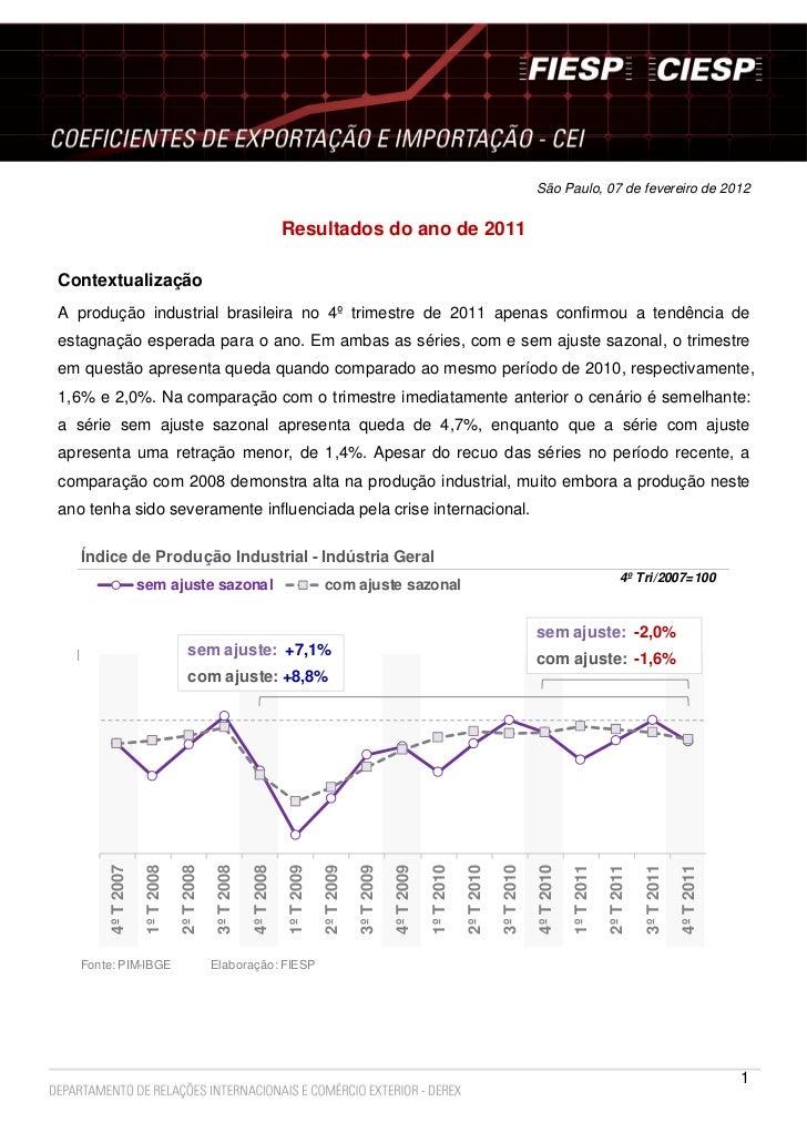 São Paulo, 07 de fevereiro de 2012                                                                                  Result...