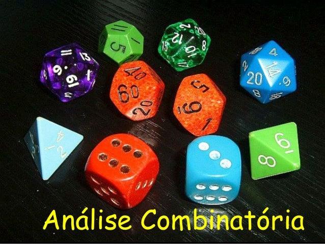 Análise Combinatória