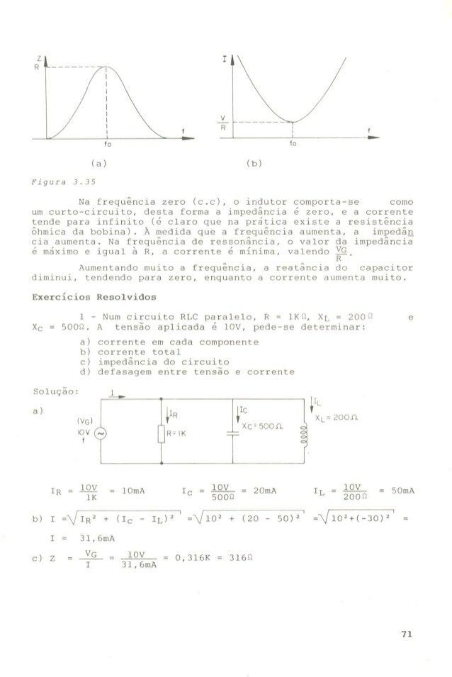 Circuito Rlc Serie Exercicios Resolvidos : Anlisedecircuitosemcorrentealternada  phpapp