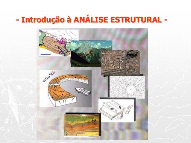 - Introdução à ANÁLISE ESTRUTURAL -