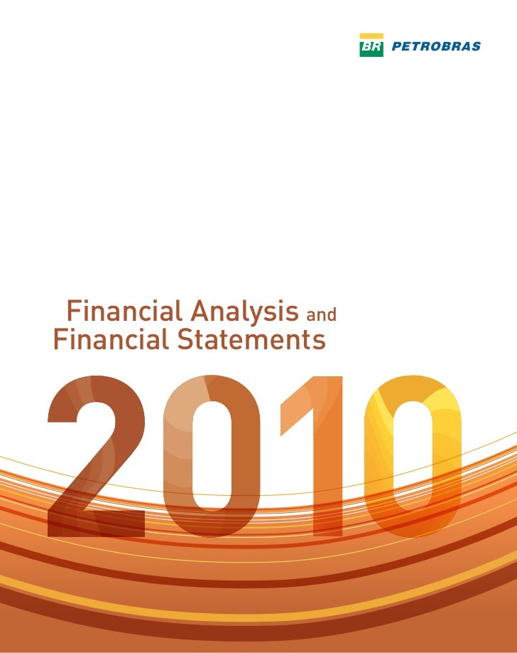 Financial Analysis andFinancial Statements