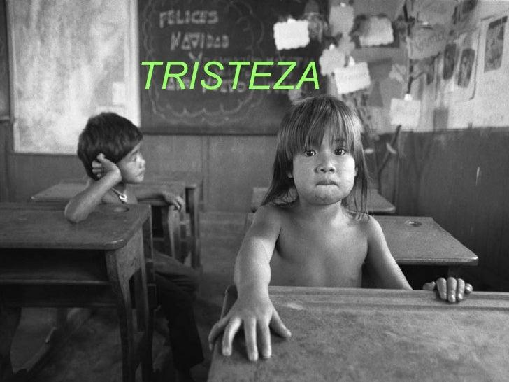 <ul><li>TRISTEZA </li></ul>