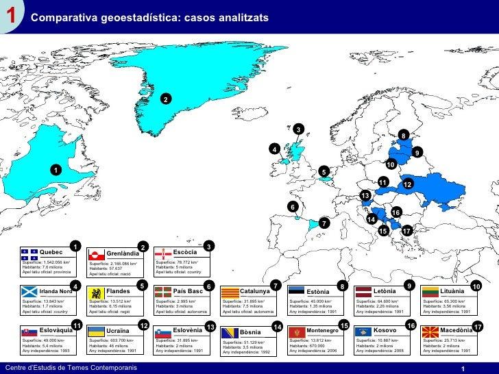 1        Comparativa geoestadística: casos analitzats                                                                     ...