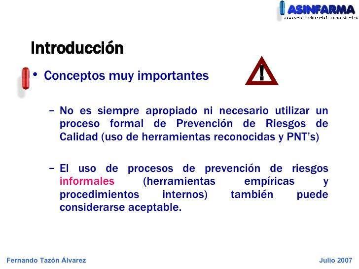 Introducción <ul><li>Conceptos muy importantes </li></ul><ul><ul><li>No es siempre apropiado ni necesario utilizar un proc...