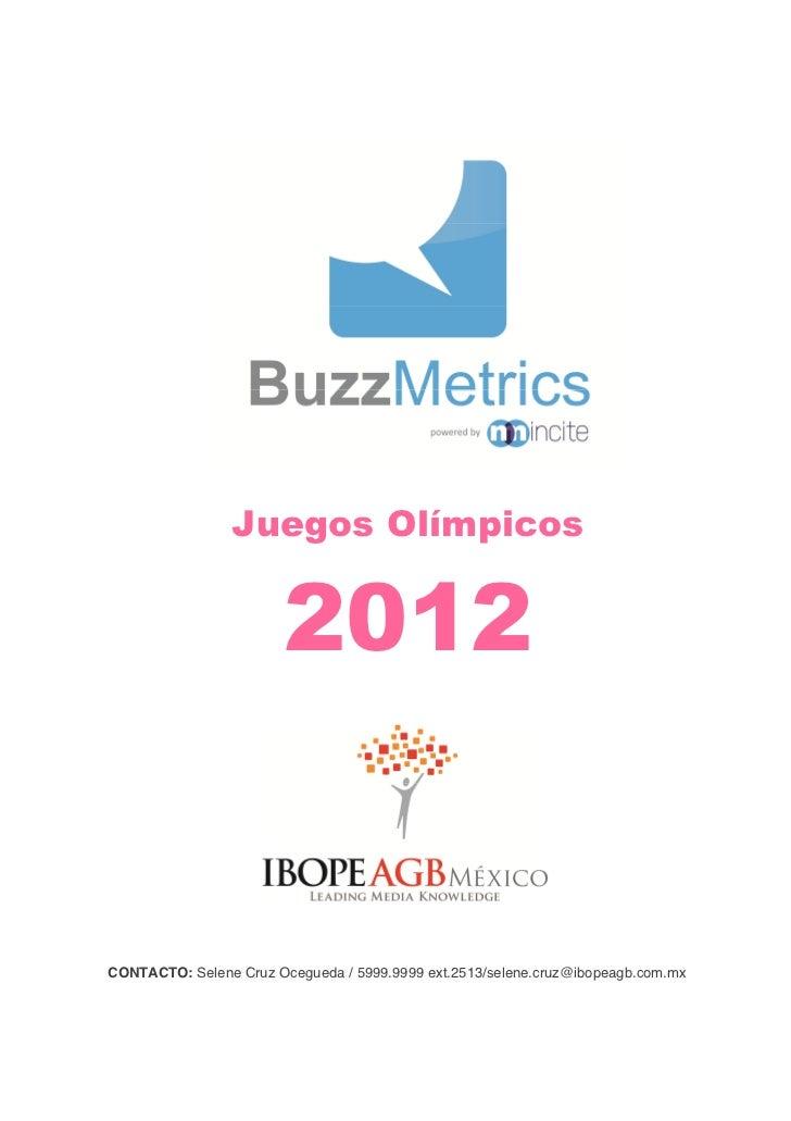 Ibope Analisis Juegos Olimpicos 2012