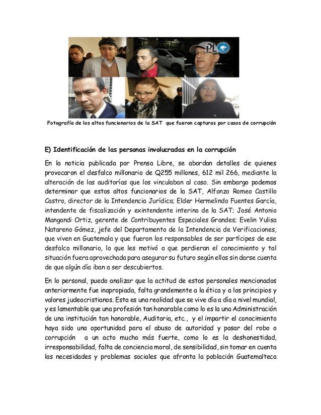 An lisis de caso de etica - Casos de corrupcion de podemos ...