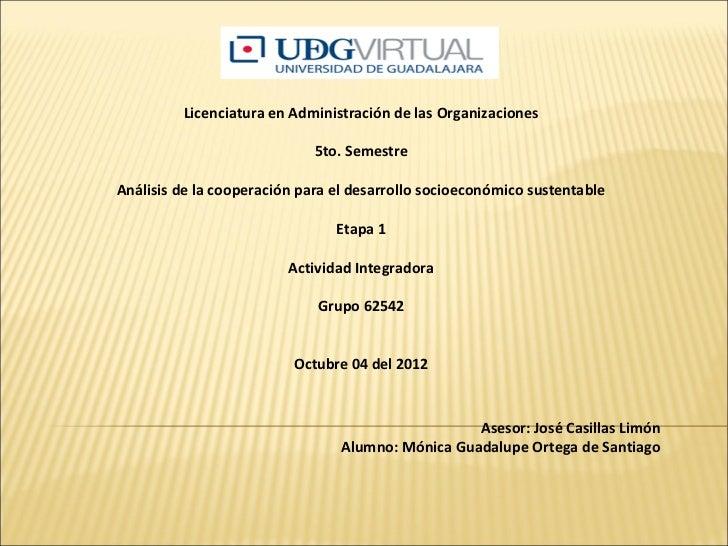 Licenciatura en Administración de las Organizaciones                                                     ...