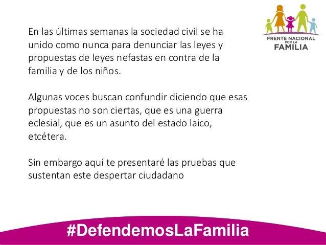 Análisis de la defensia de la familia Slide 2
