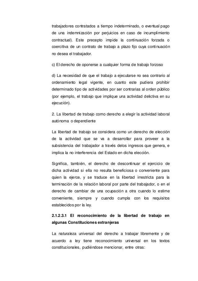 Análisis de la libertad de trabajo en la nueva ley universitaria n° 3…