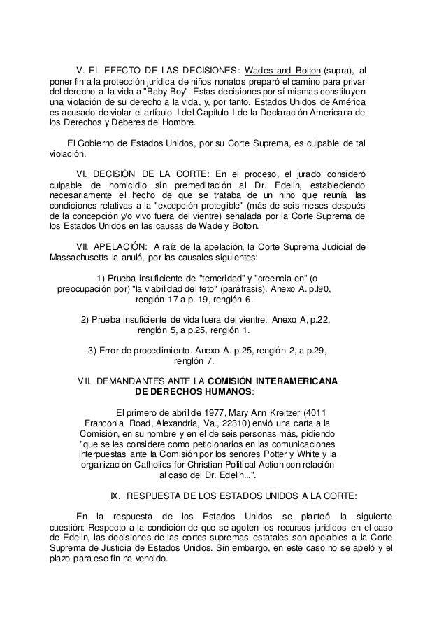 Análisis del caso bay boy La COMISIÓN INBEROAMERICANA DE DERECHOS HUM…