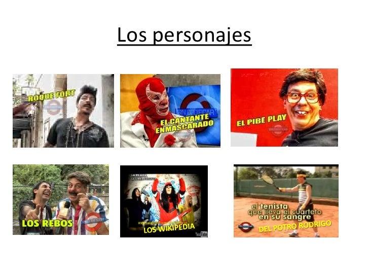 Los personajes<br />DEL POTRO RODRIGO<br />LOS WIKIPEDIA<br />