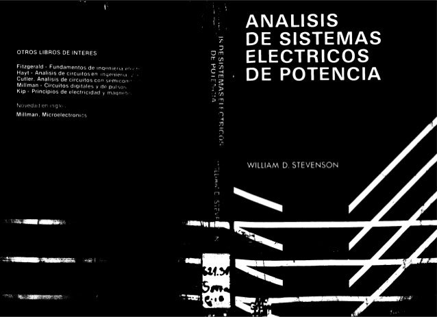 Análisis de sist. eléctricos de potencia. stevenson