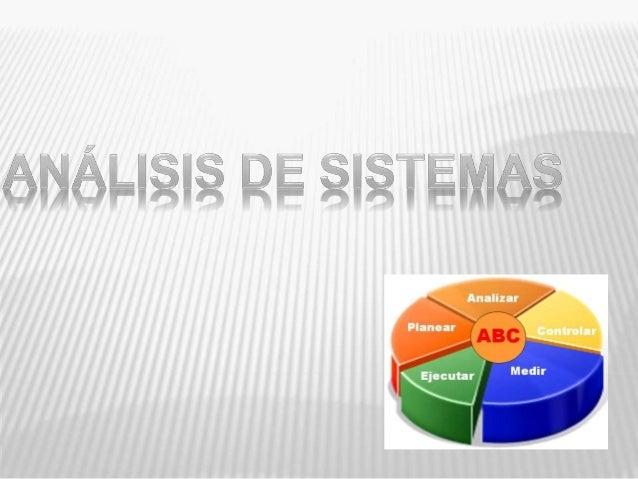 Para la Creación de un SISTEMA, es  importante tener un PLAN  El proceso de planear y construir un  sistema es conocido co...
