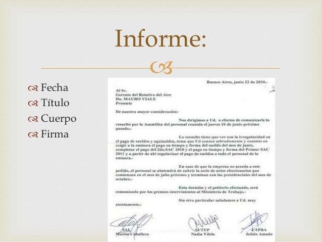 Best Quotes O Carta Formal Estructura Interna Y Externa