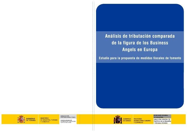 Análisis de tributación comparada de la figura de los              Business Angels en Europa   Estudio para la propuesta d...