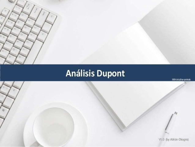 Análisis Dupont WithintuitivecontrolsV1.0 (byAdriánChiogna)
