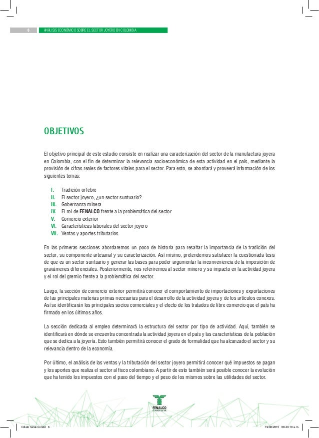 43674e6e579b Análisis económico sobre el sector joyero en colombia