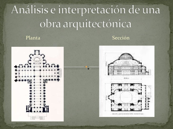 An lisis e interpretaci n de una obra arquitect nica for Descripcion de una obra arquitectonica