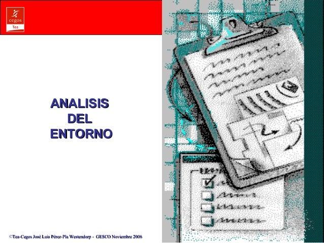 AANNAALLIISSIISS  DDEELL  EENNTTOORRNNOO  ©Tea-Cegos José Luis Pérez-Pla Westendorp -- GGEESSCCOO NNoovviieemmbbrree 22000...