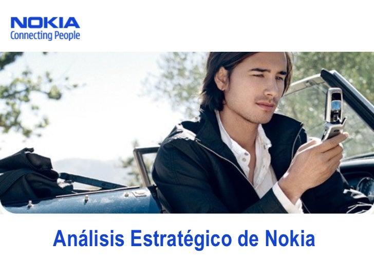 Análisis Estratégico de Nokia