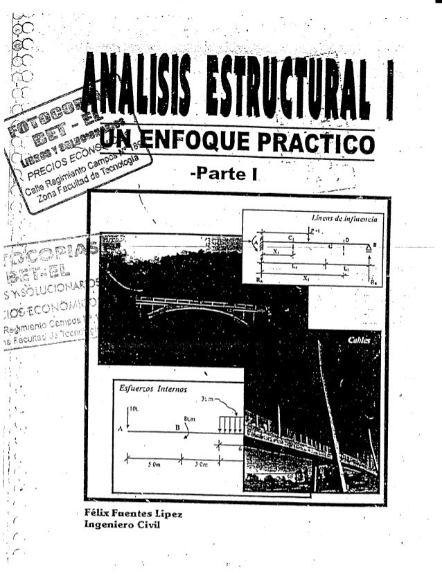 Esfuerzos Internas  Félix Fuentes Lípez Ingeniero Civil  IOL l 8Lm A B