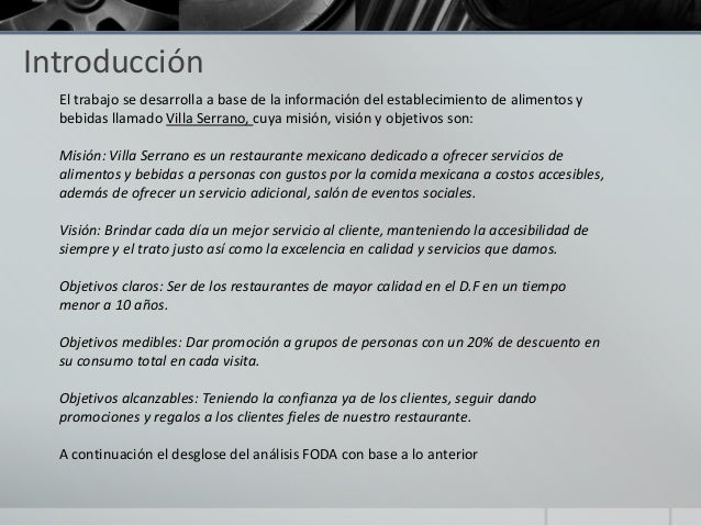 An lisis foda for Introduccion a la gastronomia pdf