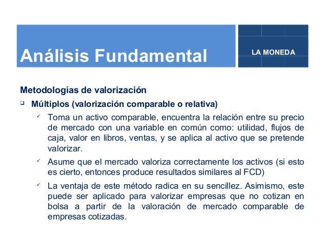 Instituto LA MONEDA, Bolsa de Valores, Análisis fundamental, Cómo inv… slideshare - 웹