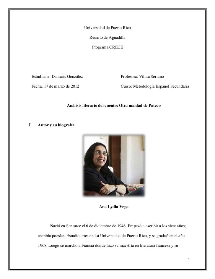 Universidad de Puerto Rico                                    Recinto de Aguadilla                                     Pro...